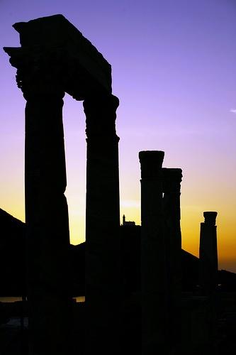 Knidos Ancient city Alleen in zonlicht gezien, maar dit is ook prachtig.