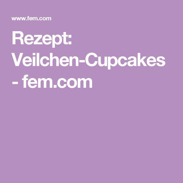 Rezept: Veilchen-Cupcakes - fem.com
