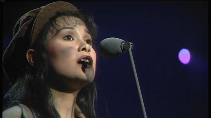 The amazing Lea Salonga singing 'On My Own' from 'Les Miserables'. You never forget your first Eponine :)