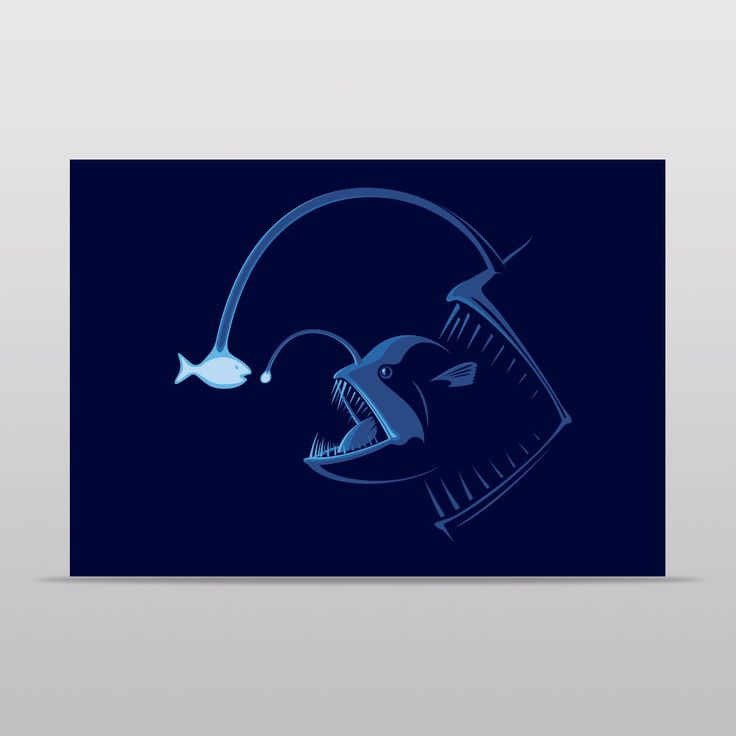 Outfished Notecard