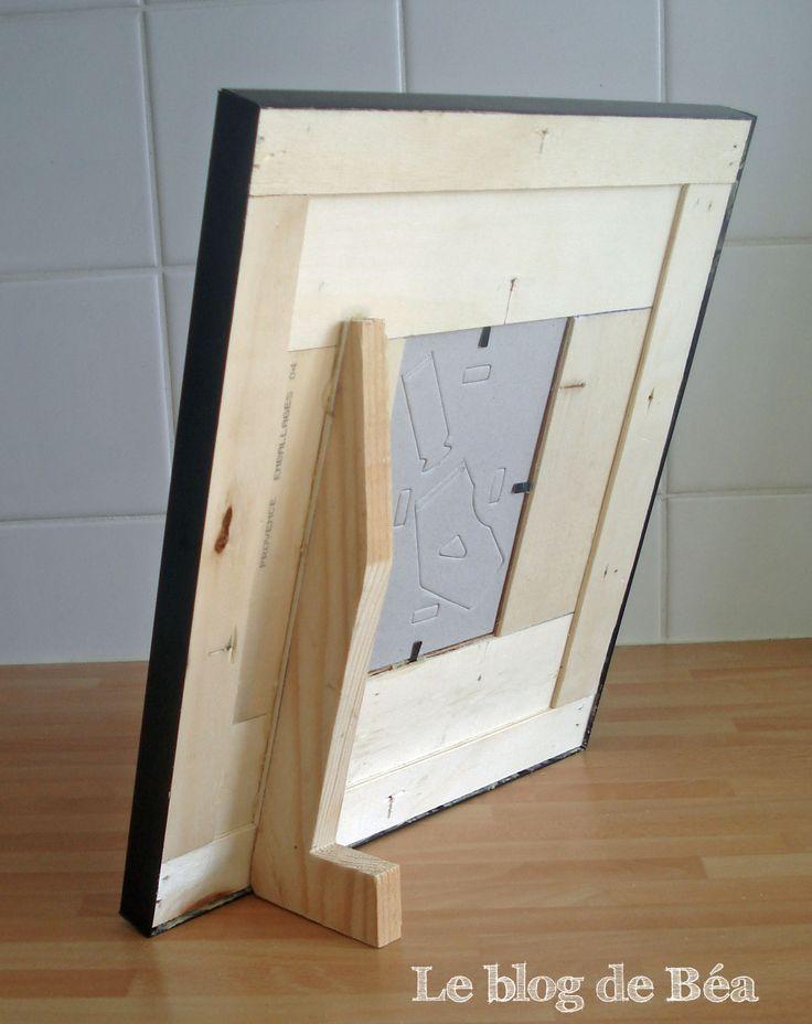 Les 25 meilleures id es de la cat gorie fabriquer un cadre photo sur pinterest id e pour cadre - Fabriquer cadre photo carton ...