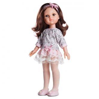 1079.00 Кукла Кэрол в платье гипюр 32 см 930,00 на http://baby-bum.com.ua/p336485818-kukla-paola-reina.html