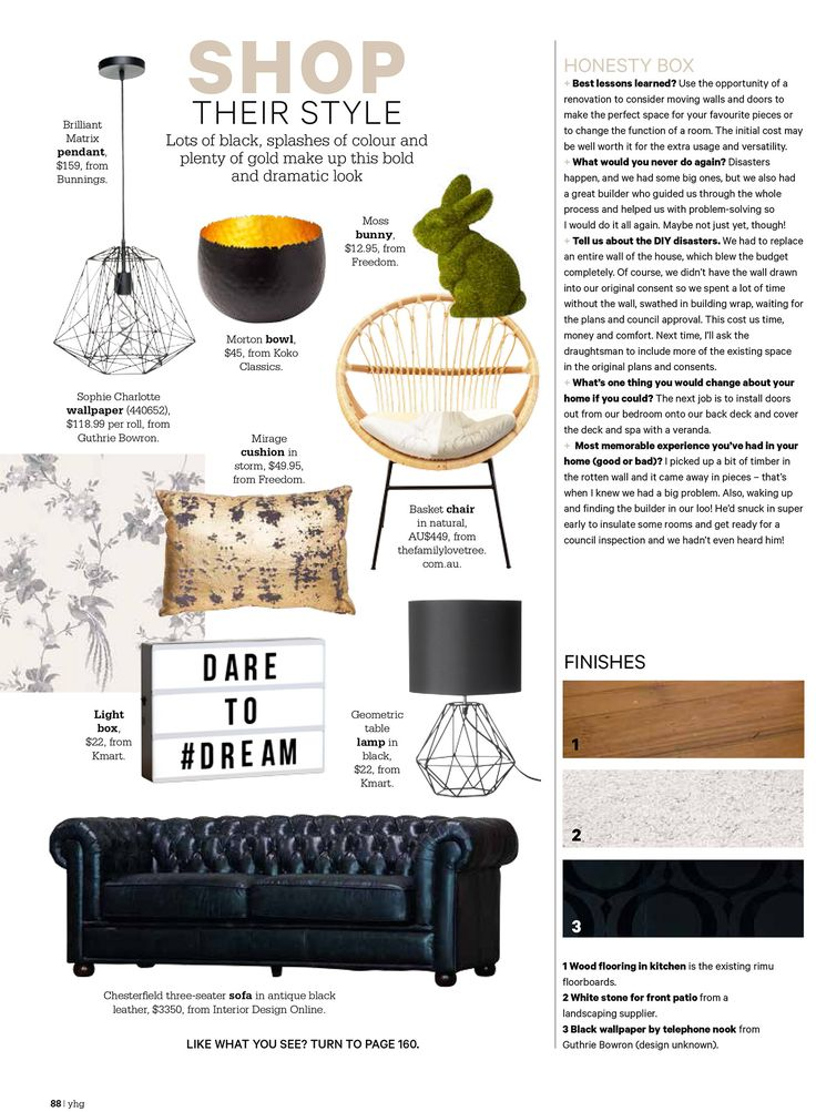 YOUR HOME & GARDEN NZ – OCTOBER 2017