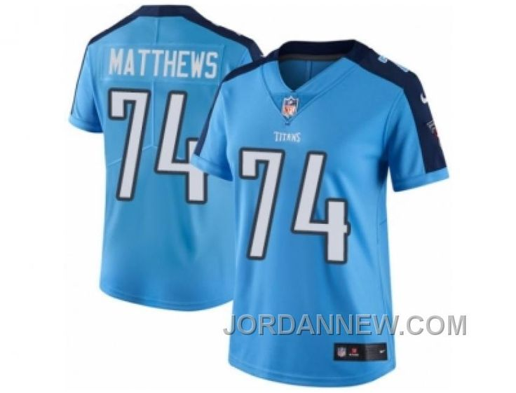 http://www.jordannew.com/womens-nike-tennessee-titans-74-bruce-matthews-limited-light-blue-rush-nfl-jersey-for-sale.html WOMEN'S NIKE TENNESSEE TITANS #74 BRUCE MATTHEWS LIMITED LIGHT BLUE RUSH NFL JERSEY DISCOUNT Only $23.00 , Free Shipping!