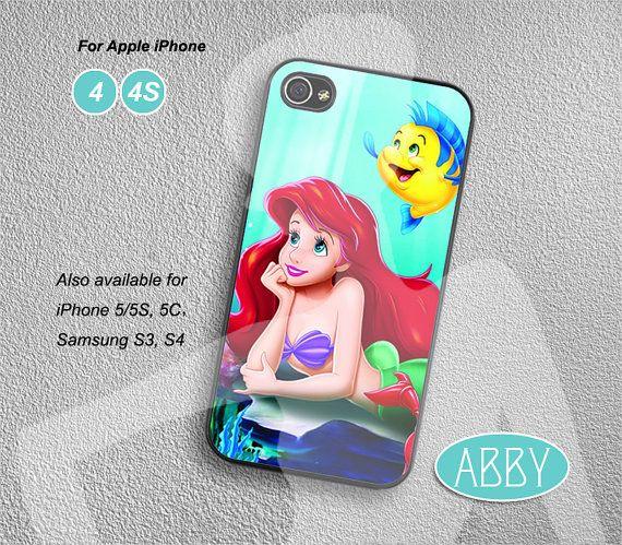 disney iPhone cases little mermaid iPhone 4s case by DesignerAbby, $8.99