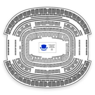 AT&T Stadium Seating Chart Rodeo