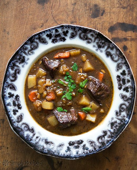 ... swap recipes on Pinterest | Beef Stews, Irish Beef and Three Sisters