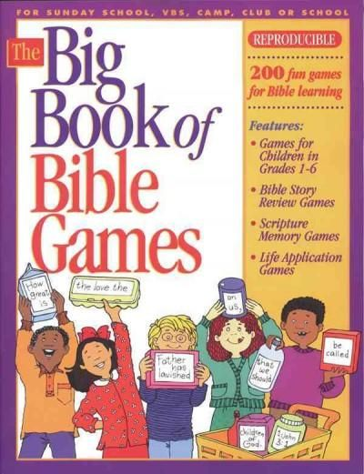 Dont you always wish you could think of a quick and easy game? Heres the place to start! Everyone who works with kids needs this book! The Big Book of Bible Games #1 contains more than 150 games perfe