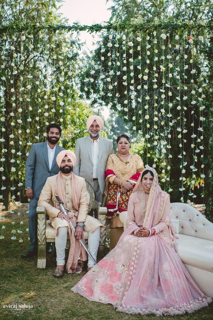 Understated Elegance at this Punjabi Wedding