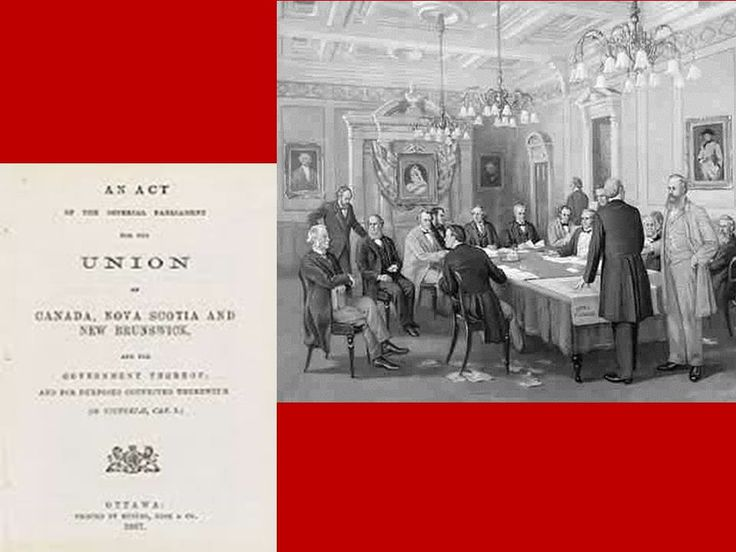 The Senate was first established by the Constitution Act of 1867, which declared Canada's sovereignty.