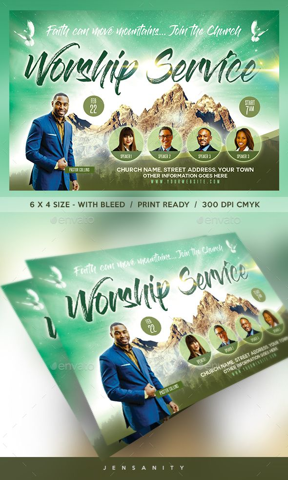 church flyer template psd very easy to edit flyer templates