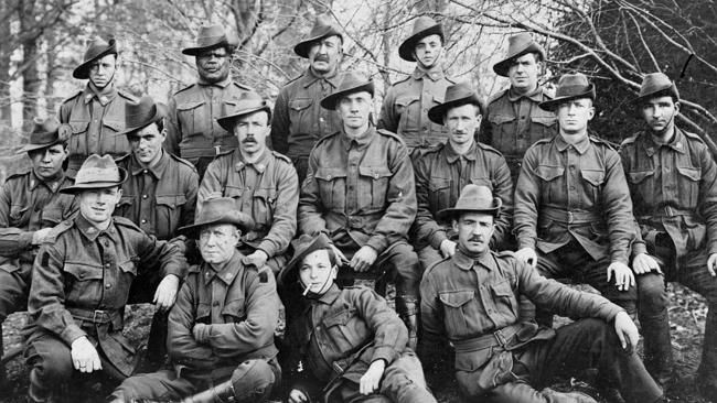 Brothers in arms ... members of the 66th Battalion. Picture: Australian War Memorial