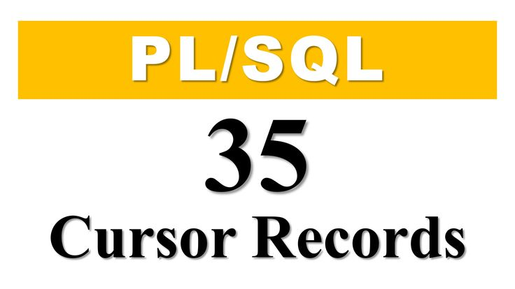 PL/SQL tutorial 35: Cursor Based Record Datatype Variable in Oracle Database