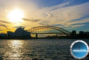 Harbour Bridge von Sydney / Australien Opera House in Sydney / Australien Uhrzeit Syndey und weitere Infos, Bilder und Videos über Australien auf http://uhrzeiten.biz/