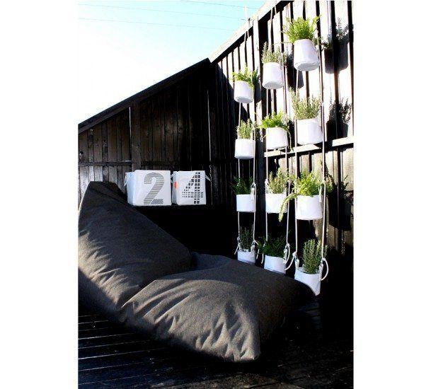 Blomsterophæng - 4 stk - Hvid