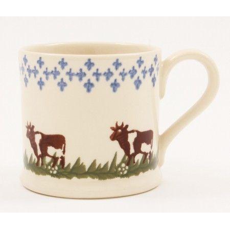 Brixton Pottery Cow Mug - £11.50