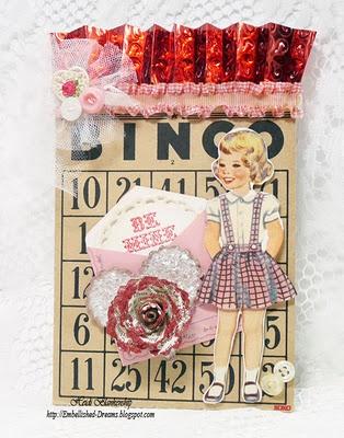 Bingo card using Winter Words designed by Heidi Blankenship