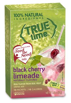 True Lime™ Black Cherry Limeade - 10 ct. TRY ALL THE FLAVOURS.