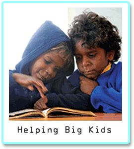 Helping big Indigenous kids read