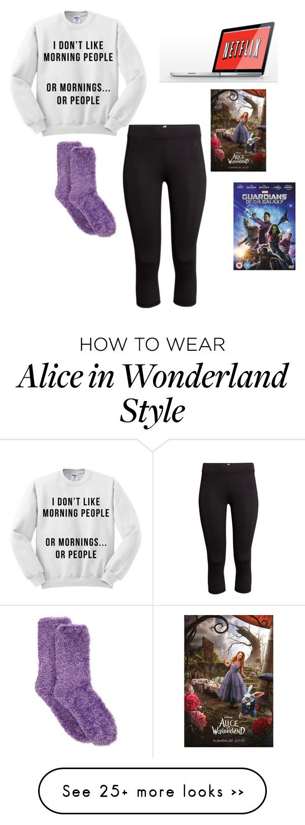 """Netflix "" by beth123456 on Polyvore featuring H&M and Charter Club"