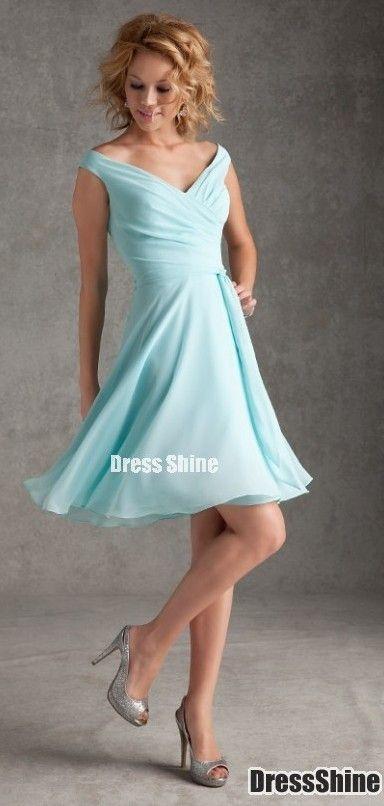 Really pretty, but it looks a bit like a bridesmaid dress...hm