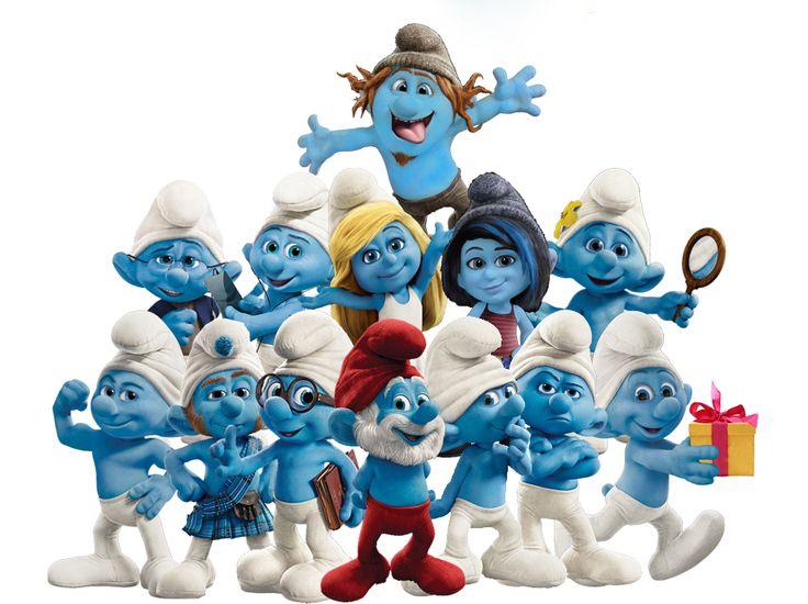 Die Schlümpfe ♥ Smurfs, Favorite movies, Cartoon