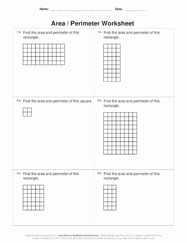 5 area and Perimeter Word Problems Worksheets for Grade 5