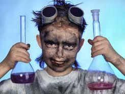Šílené pokusy pro děti a teenagery
