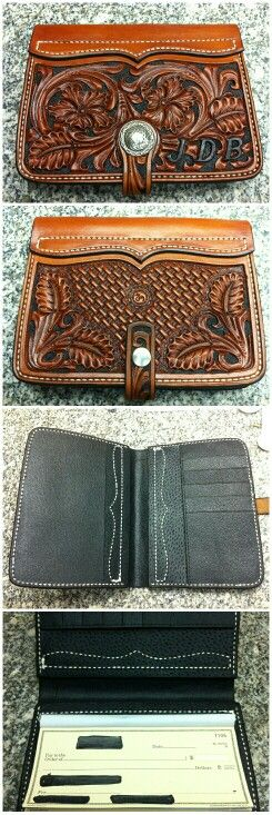 Checkbook cover.  I need one of these.