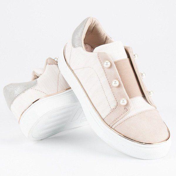 Buty Sportowe Dzieciece Dla Dzieci Butymodne Brazowe Trampki Z Perelkami Butymodne Kids Shoes Kid Shoes Kawaii Shoes