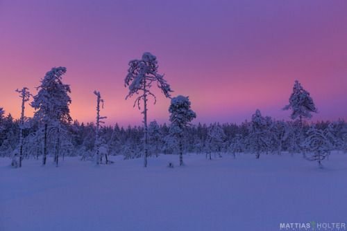Christmas in northern Finland [OC] [1348×899] -……