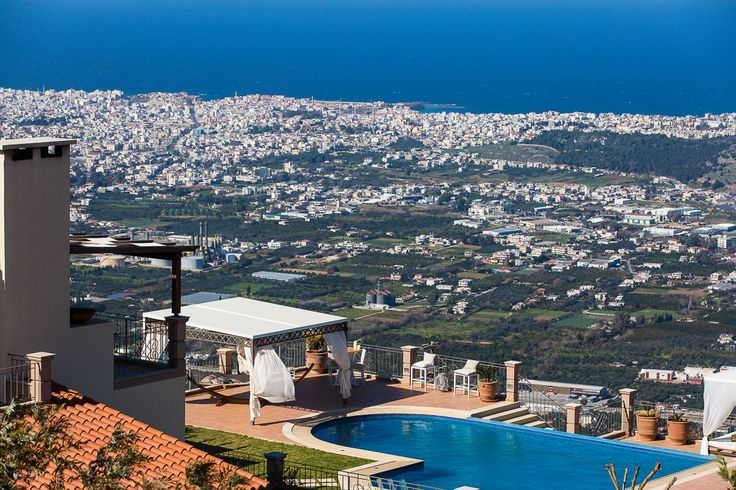 Golden Hill Villa in Malaxa Village, Chania, Crete #villa #chania #crete #greece #vacation_rental #holidays #luxurious_accommodation #privacy #visit_crete #unforgettable_holidays #live_your_myth_in_Greece #outdoors #swimming_pool #love_the_view