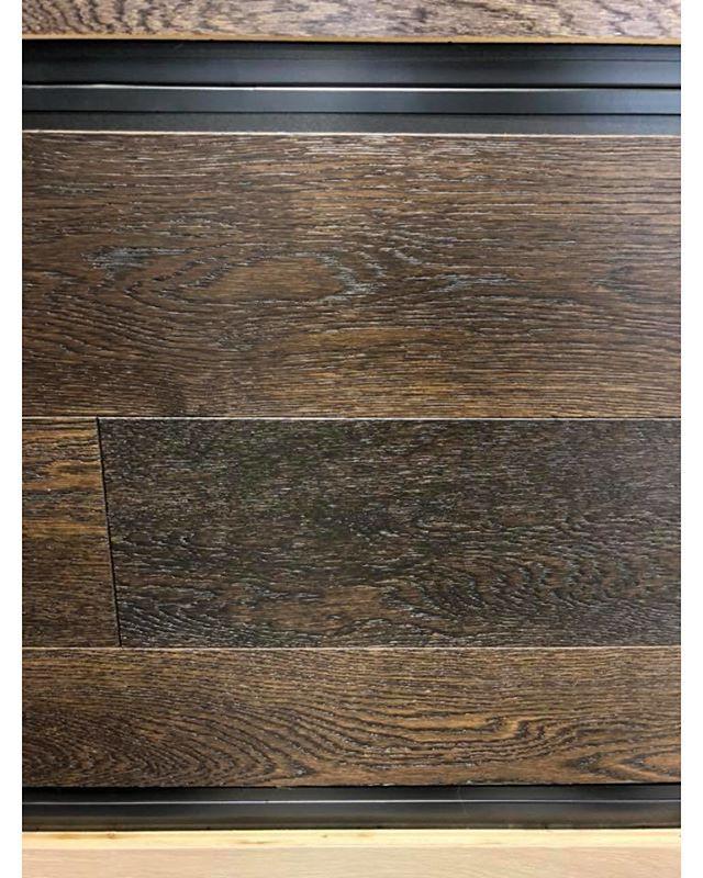White Oak Twilight by Laurentian Flooring. Beautiful dark and warm.