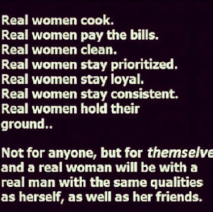 Quotes About Being A Real Woman: Wall Quotes #1