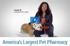 1800PetMeds is your online pet store offering discount prices on petsupplies,medications, products, vitamins and supplements for your pet. Discount Prices on Pet Supplies, Frontline Plus, Advantage, Heartgard Plus, Sentinel, Interceptor, and more.