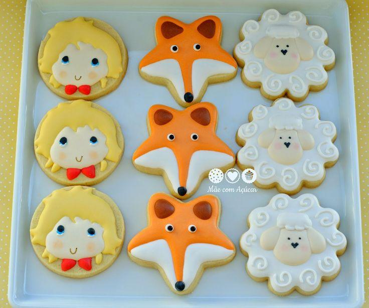 Mãe com Açúcar: O Pequeno Príncipe - The Little Prince  Decorated Cookies