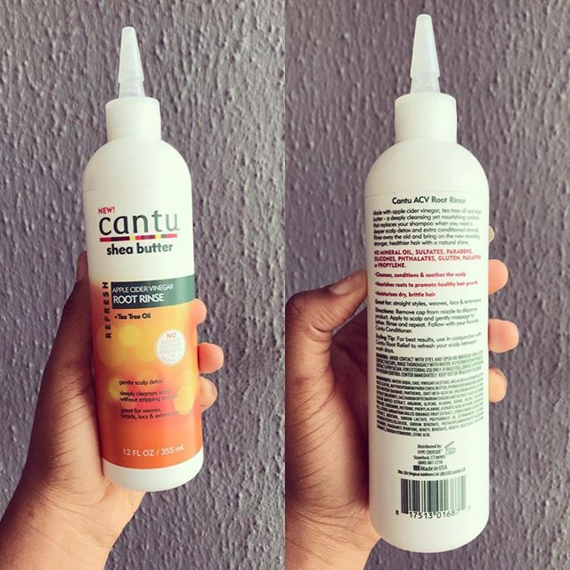 Cantu Root Rinse @cantubeauty.africa is made with apple cider vinegar tea tree oil and Shea butter.  It soothes itching & irritation and it's great for braids  weaves  locs & extensions.  Available for 2750 Naira.  Nationwide shipping  Cash on delivery within Lagos  Port Harcourt & Asaba.  Order Via whatsapp by clicking on link in bio  Or visit our website  www.buybetter.ng  #buybetter #buybetterng #cantu #haircaretips #naturalhairproducts #beautyinlagos #beautytips #beautystoreinlagos…