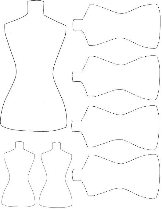 ici, ce sont des tags qui reprennent la forme des bustes des mannequins de couturières... cinq modèles au total sont proposés, trois féminins et deux masculins... mais ceux-ci pourront aussi être utilisés comme gabarits pour découper ces formes dans vos papiers préférés...
