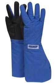 National Safety Apparel® Medium 3M™ Scotchlite™ Thinsulate™ Lined Nylon Taslan And PTFE Elbow Length Waterproof Cryogen Gloves With Safer Grip™ Palm And Thumb