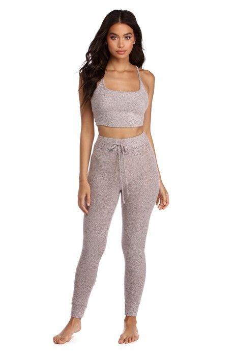 c3f4aabea487 FINAL SALE - Soft Knit Pajama Set