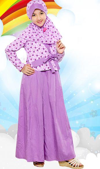 baju muslim anak perempuan yang sangat cantik dan anggun
