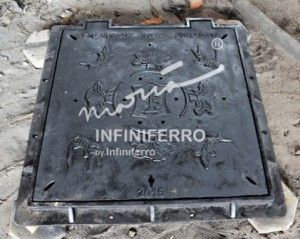 Grill manhole cast iron pedestrian Surabaya