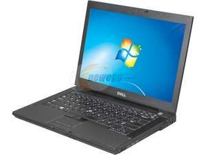 """DELL Notebook, 1 Year Warranty Latitude E6400 Intel Core 2 Duo 2.40GHz 2GB Memory 160GB HDD Intel GMA 4500MHD 14.1"""""""