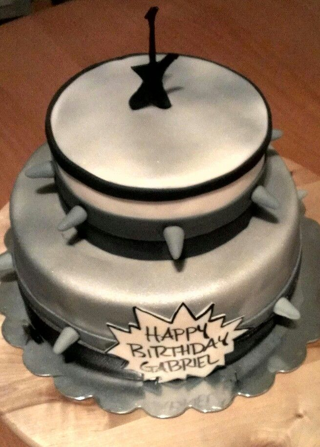 25 Best Cakes With Music Notes Images On Pinterest