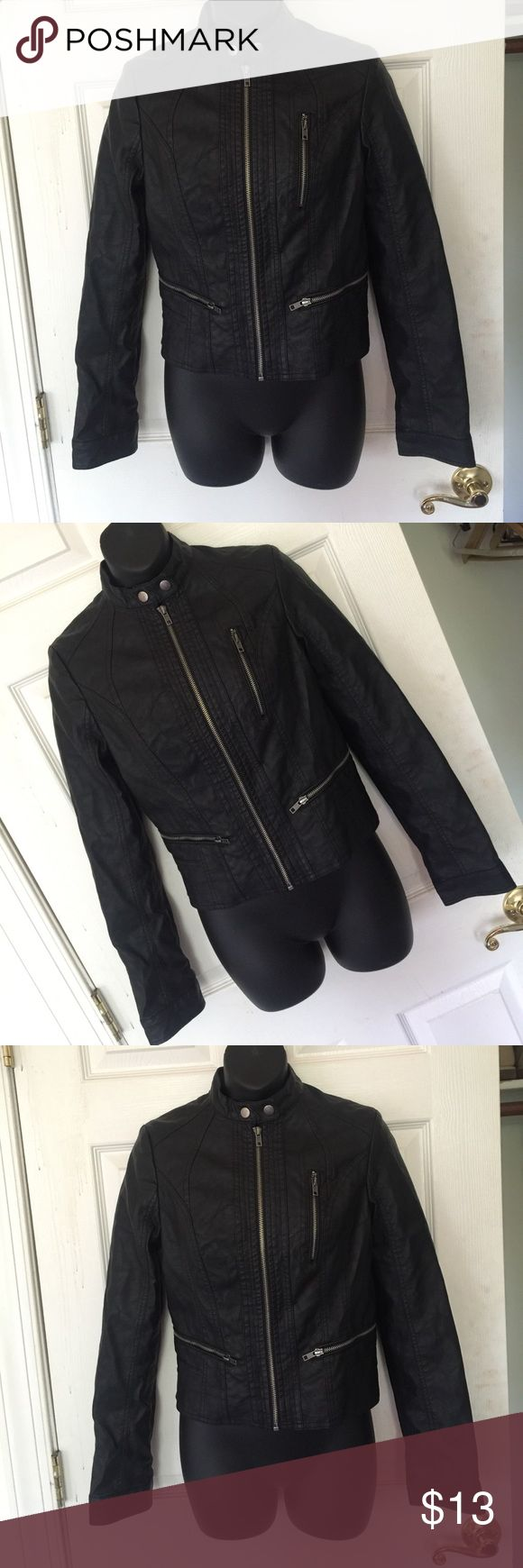 Leather jacket damage - Cute Black Leather Jacket