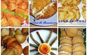 Idee sfizi, contorni (patate in tanti modi) e antipasti per pasqua 2013
