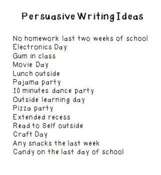 Persuasive Essay on Less Homework    University Education and     Pinterest