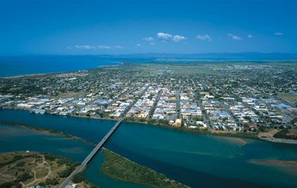 Mackay Qld Australia (which is Home of Cathy Freeman):  Google Image Result for http://www.welcome2australia.com.au/queensland/mackay/row3-photo1.jpg