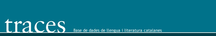 Base de dades de llengua i literatura catalanes