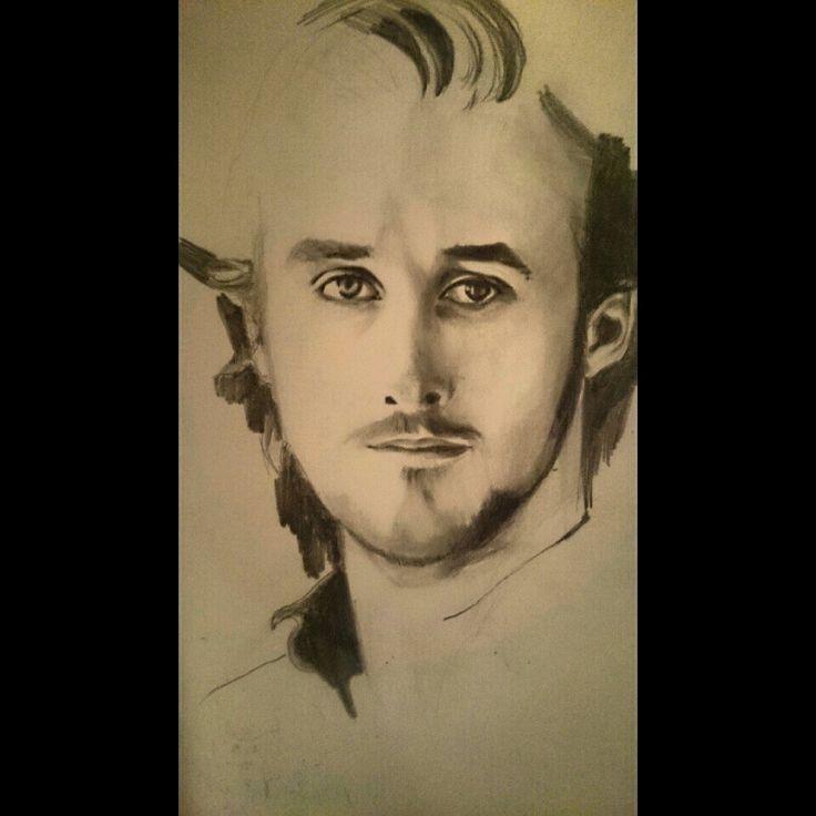 Ryan Gosling.  Getting Started. Pencils, paper
